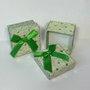 Caixinha Presente Pequena Glitter Verde 1und.